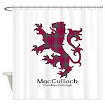 Lion-MacCulloch.MacCullough Shower Curtain