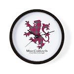Lion-MacCulloch.MacCullough Wall Clock