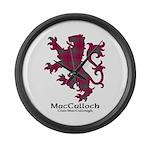 Lion-MacCulloch.MacCullough Large Wall Clock