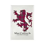 Lion-MacCulloch.MacCullough Rectangle Magnet