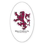 Lion-MacCulloch.MacCullough Sticker (Oval 50 pk)