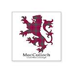 Lion-MacCulloch.MacCullough Square Sticker 3