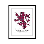 Lion-MacCulloch.MacCullough Framed Panel Print