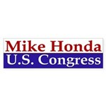 Mike Honda for Congress (bumper sticker)