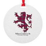 Lion-MacCulloch.MacCullough Round Ornament
