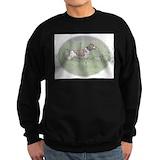Brittany spaniel Sweatshirt (dark)