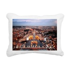 Saint Peter's Square Rectangular Canvas Pillow