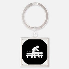 Acupuncture-AAB1 Square Keychain