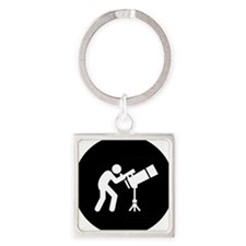 Astronomy-AAB1 Square Keychain