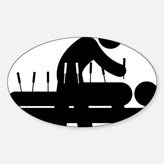 Acupuncture-AAA1 Sticker (Oval)