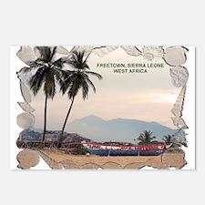 Cute Sierra leone africa Postcards (Package of 8)