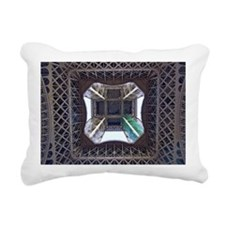 View from underneath Eif Rectangular Canvas Pillow