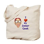 Boy Inner Geek Tote Bag