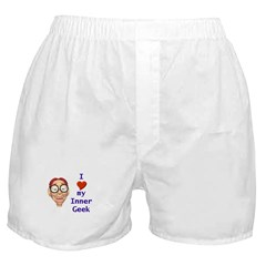 Boy Inner Geek Boxer Shorts