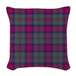 Tartan - Carrick Woven Throw Pillow