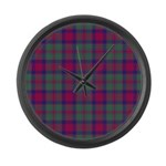 Tartan - Carrick Large Wall Clock