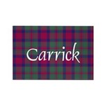 Tartan - Carrick Rectangle Magnet (10 pack)