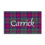 Tartan - Carrick 20x12 Wall Decal