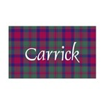 Tartan - Carrick 35x21 Wall Decal