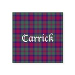 Tartan - Carrick Square Sticker 3