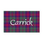 Tartan - Carrick Rectangle Car Magnet