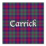 Tartan - Carrick Square Car Magnet 3