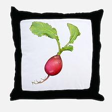 Radish Throw Pillow