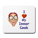 Boy Inner Geek Mousepad
