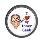 Boy Inner Geek Wall Clock
