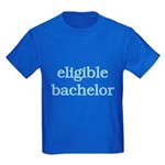 Eligible Bachelor Kids Dark T-Shirt