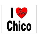 I Love Chico Small Poster