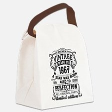 Vintage 1967 Canvas Lunch Bag
