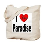 I Love Paradise Tote Bag