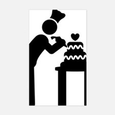 Cake-Decorating-AAA1 Sticker (Rectangle)