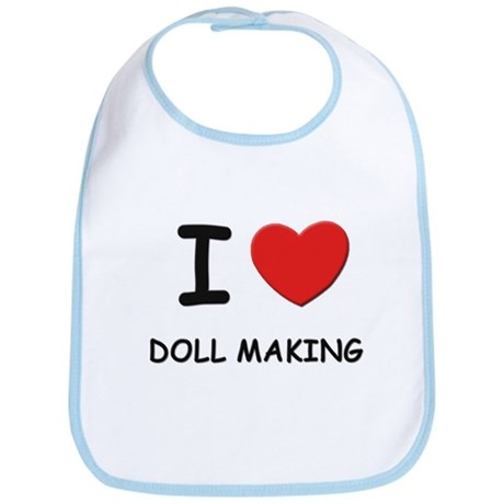 I love doll making Bib