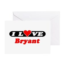 I Love Bryant Greeting Cards (Pk of 10)
