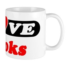 I Love Brooks Mug