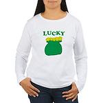 Lucky Pot O'Gold Women's Long Sleeve T-Shirt