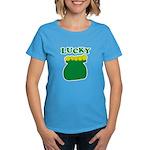 Lucky Pot O'Gold Women's Dark T-Shirt