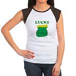 Lucky Pot O'Gold Women's Cap Sleeve T-Shirt
