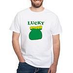 Lucky Pot O'Gold White T-Shirt