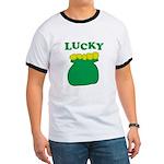 Lucky Pot O'Gold Ringer T