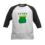 Lucky Pot O'Gold Kids Baseball Jersey