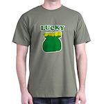 Lucky Pot O'Gold Dark T-Shirt