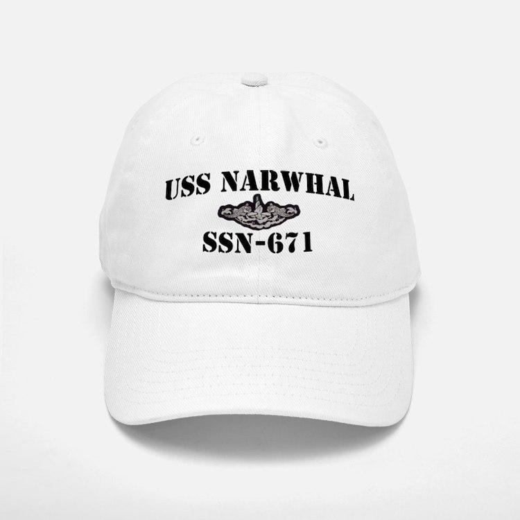 USS NARWHAL Baseball Baseball Cap
