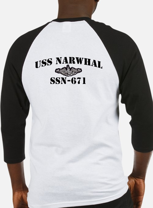 USS NARWHAL Baseball Jersey