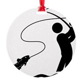 Fly fishing Ornaments