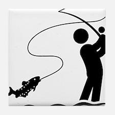 Fly-Fishing-AAA1 Tile Coaster
