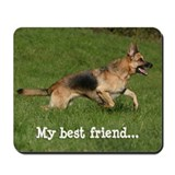 German shepherd dog mouse pad Mouse Pads