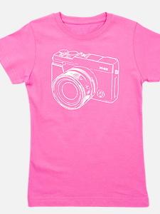 Retro Camera Light Girl's Tee